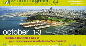 West Coast Green:  Innovations, Ideas, and Opportunities