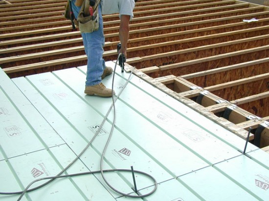 Ingenious Two In One Radiant Panel Structural Subfloor