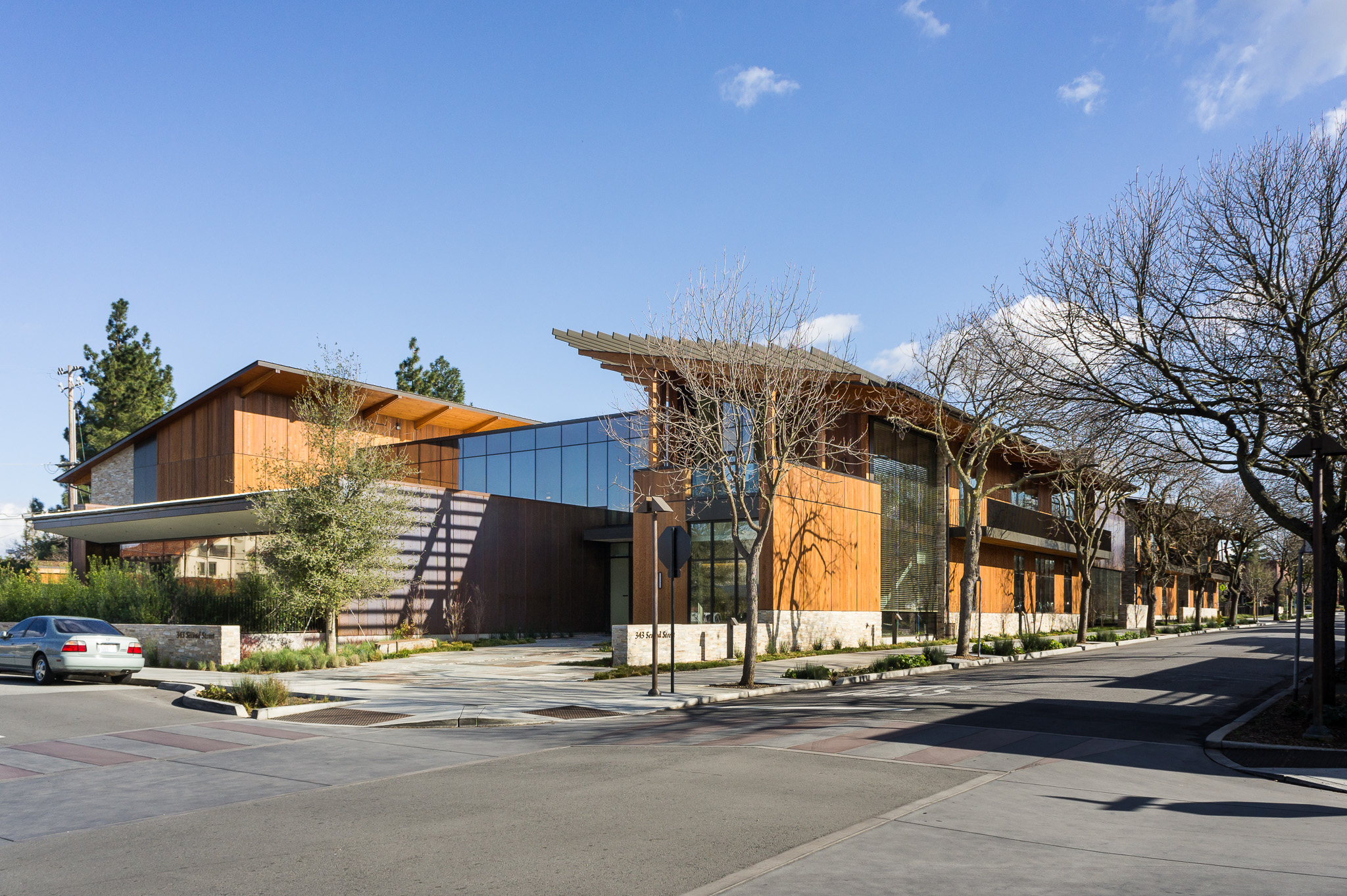 The David and Lucile Packard Foundation Headquarters: north