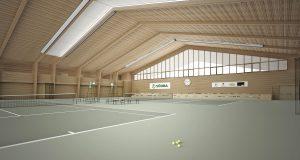 Växjö Tennis Hall Concept Wins World Architecture Community Award
