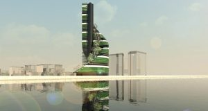 5 Terre Vertical Farm Concept Addresses Urban Population Growth