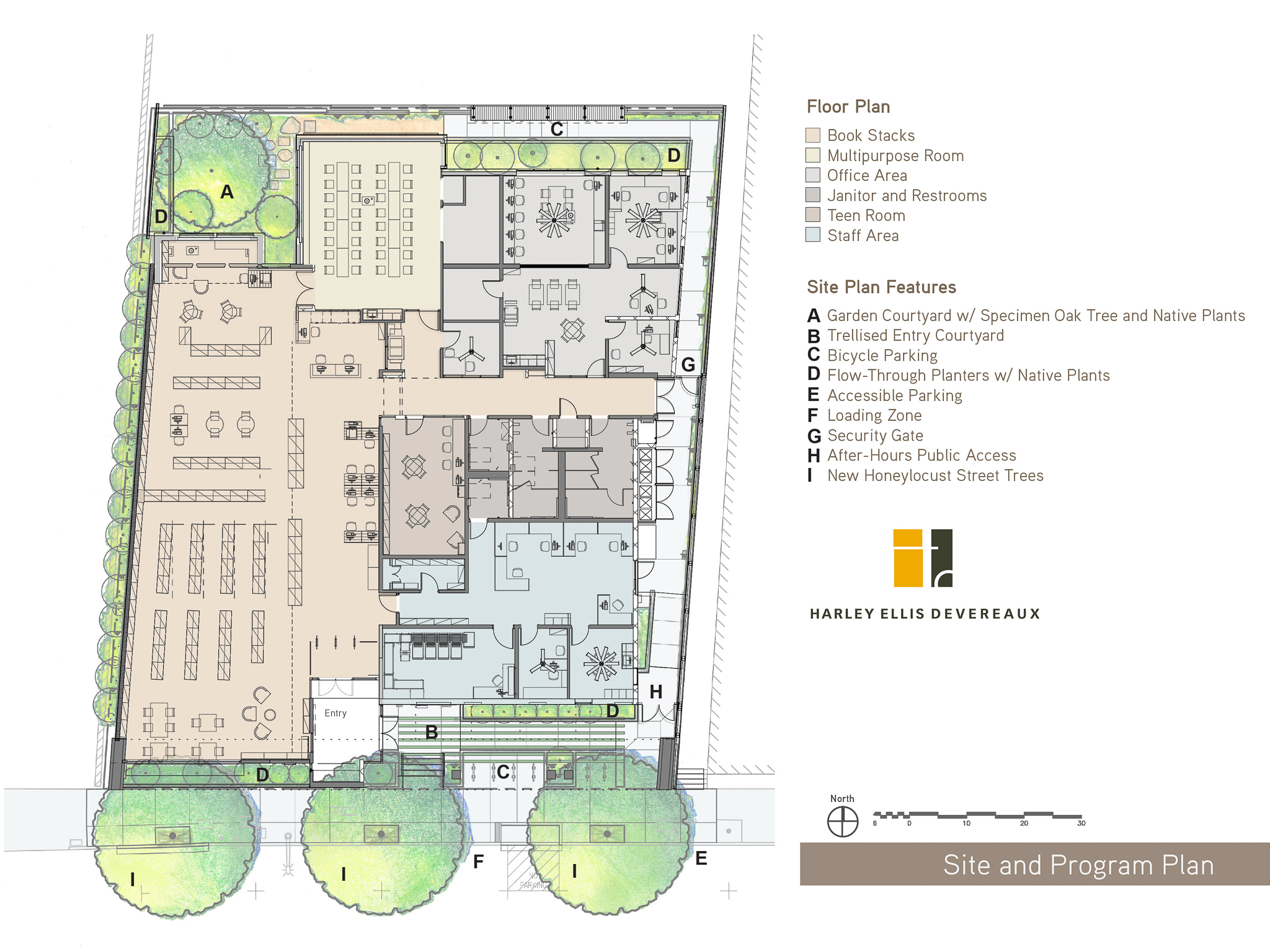 Public library floor plans gurus floor for Site floor plan