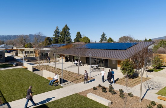 The Sweetwater Spectrum Community located in Sonoma, California is dedicated to adults with autism and designed by Leddy Maytum Stacy Architects. (Photo by Tim Griffith)