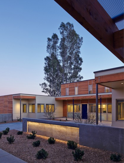 The Sweetwater Spectrum Community located in Sonoma, California is designed to be net zero energy as well as sensitively appropriate for adults with autism. (Photo by Tim Griffith)