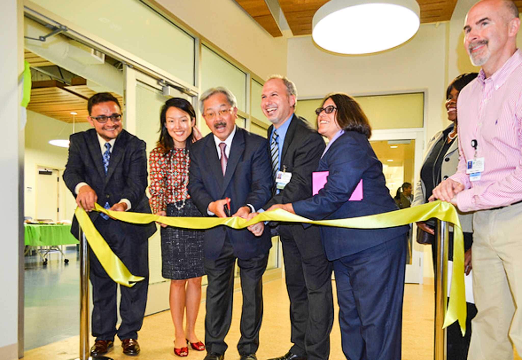 San Francisco Mayor Ed Lee, Director of Primary Care Homeless ...