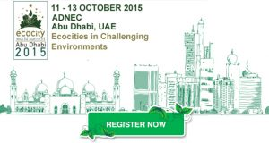 Ecocity World Summit – Abu Dhabi 2015