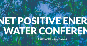 Net Positive Energy + Water Conference 2016