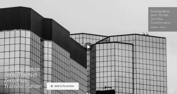 Building Below Zero: The Net Zero Plus Transformation