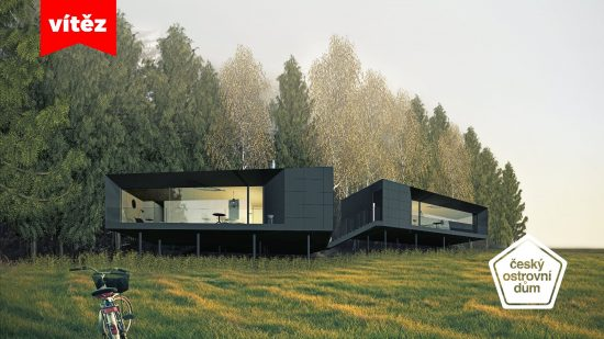 Winner of the 2016 Student Competition: Czech Island House - Vojtěch Lichý