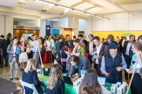 The morning registration period of GreenerBuilder 2017 was abuzz with excitement and anticipation. (Photo by Mignon O'Young)