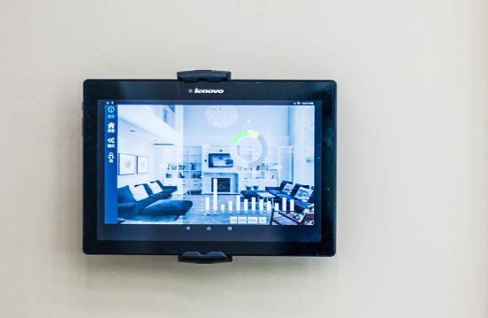The Smart Home monitoring system in the AYO Smart Home Pilot House monitors the use of water and lighting and solar PV generation. (Photo courtesy AYO Smart Home)