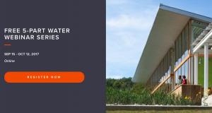 Free ILFI Water Webinars